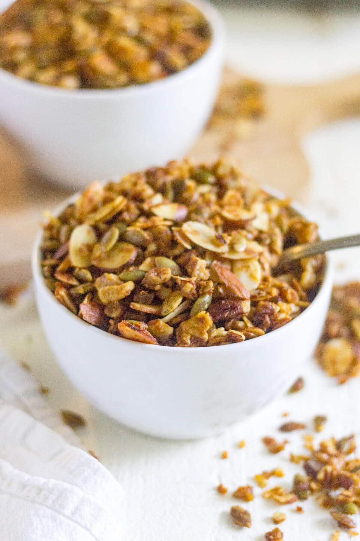 grain free granola recipe paleo