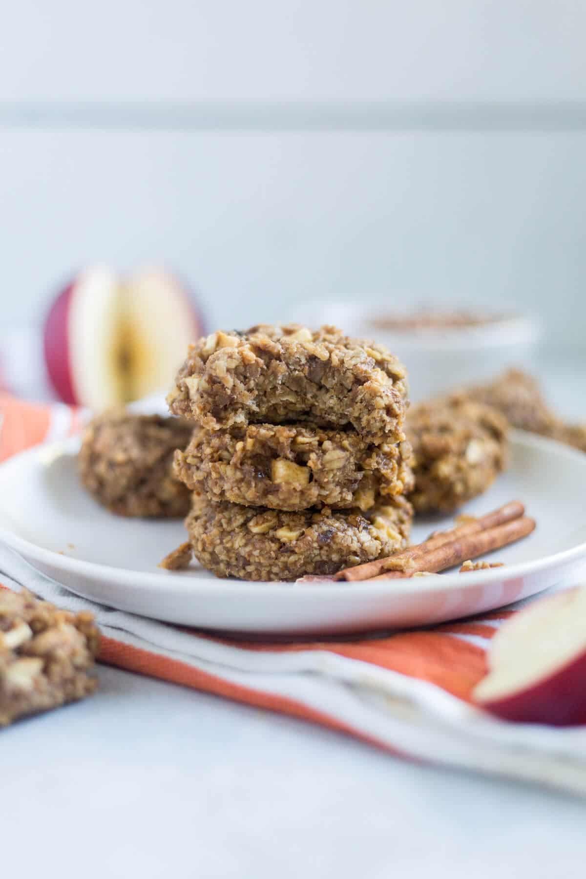 banana oatmeal breakfast cookies