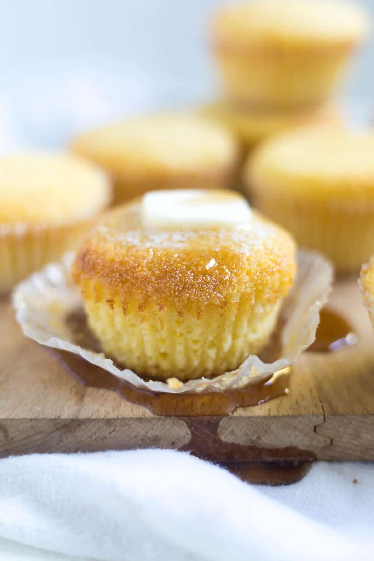 easy sweet cornbread muffins