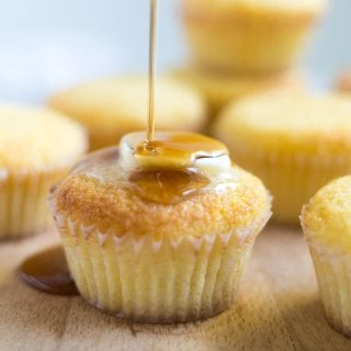 Rich with sweet and savory flavor, these maple brown butter cornbread muffins will be the star of your Thanksgiving spread. Serve them warm with butter and cinnamon for a side dish you won't forget!