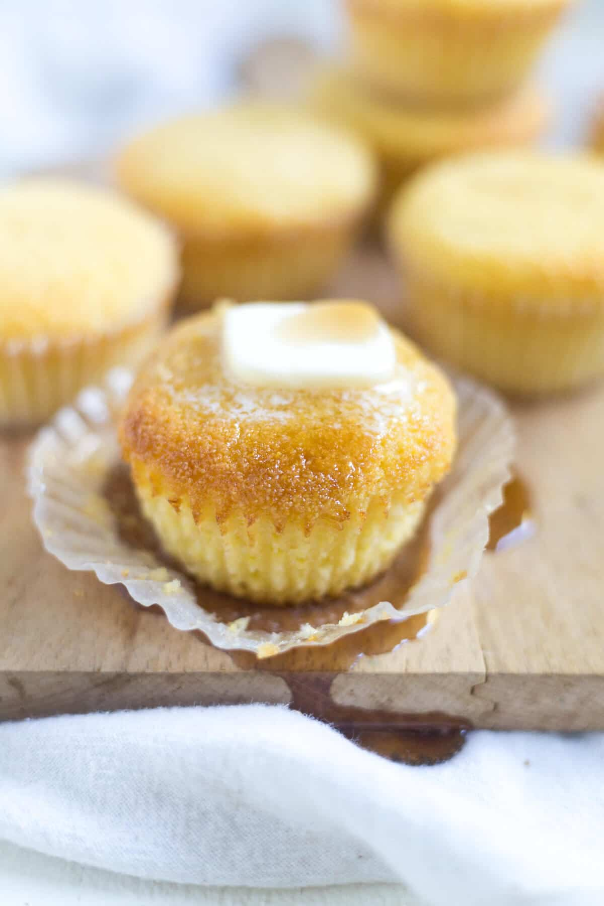 Sweet Cornbread Muffins | What Molly Made