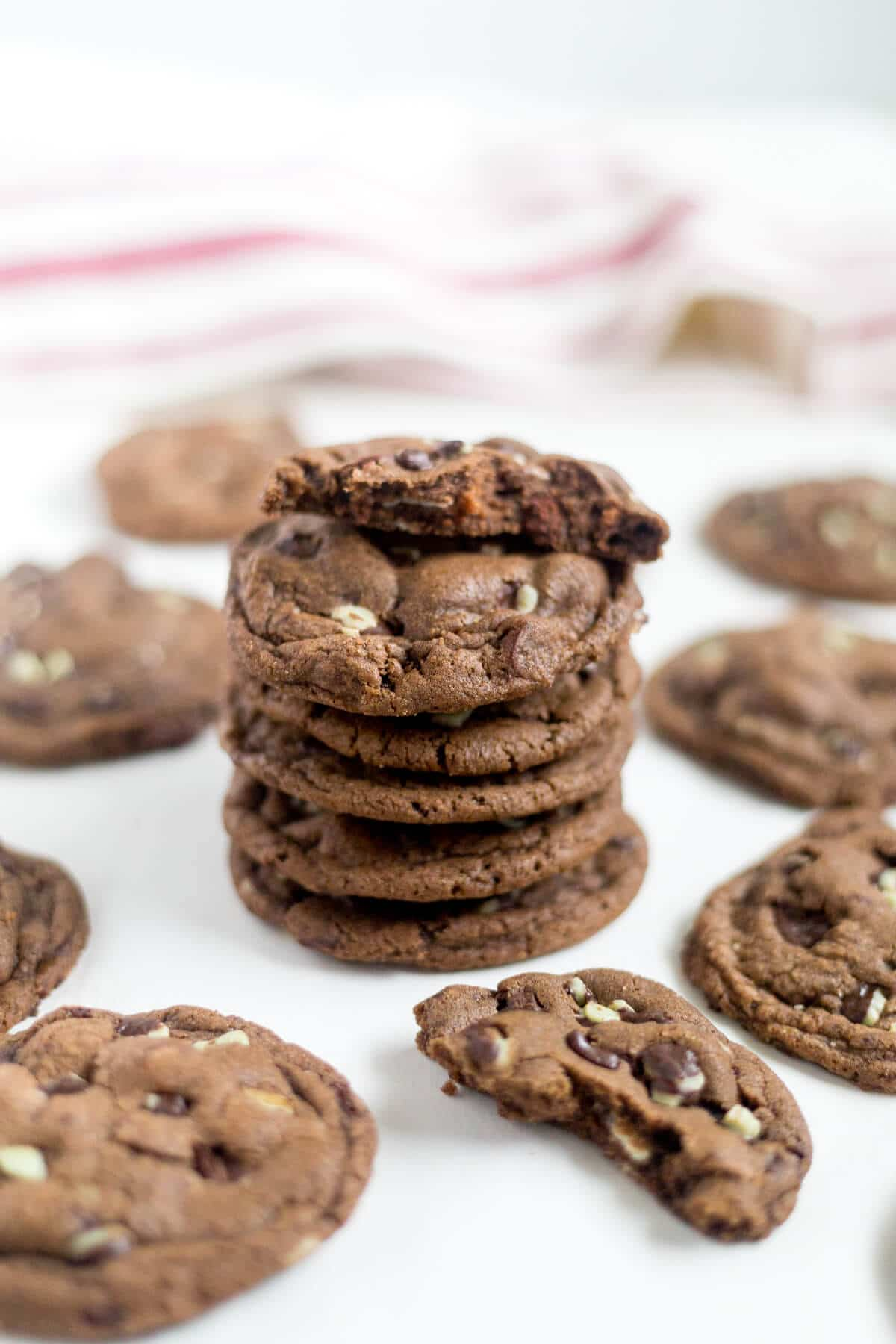 andes chocolate mint cookies