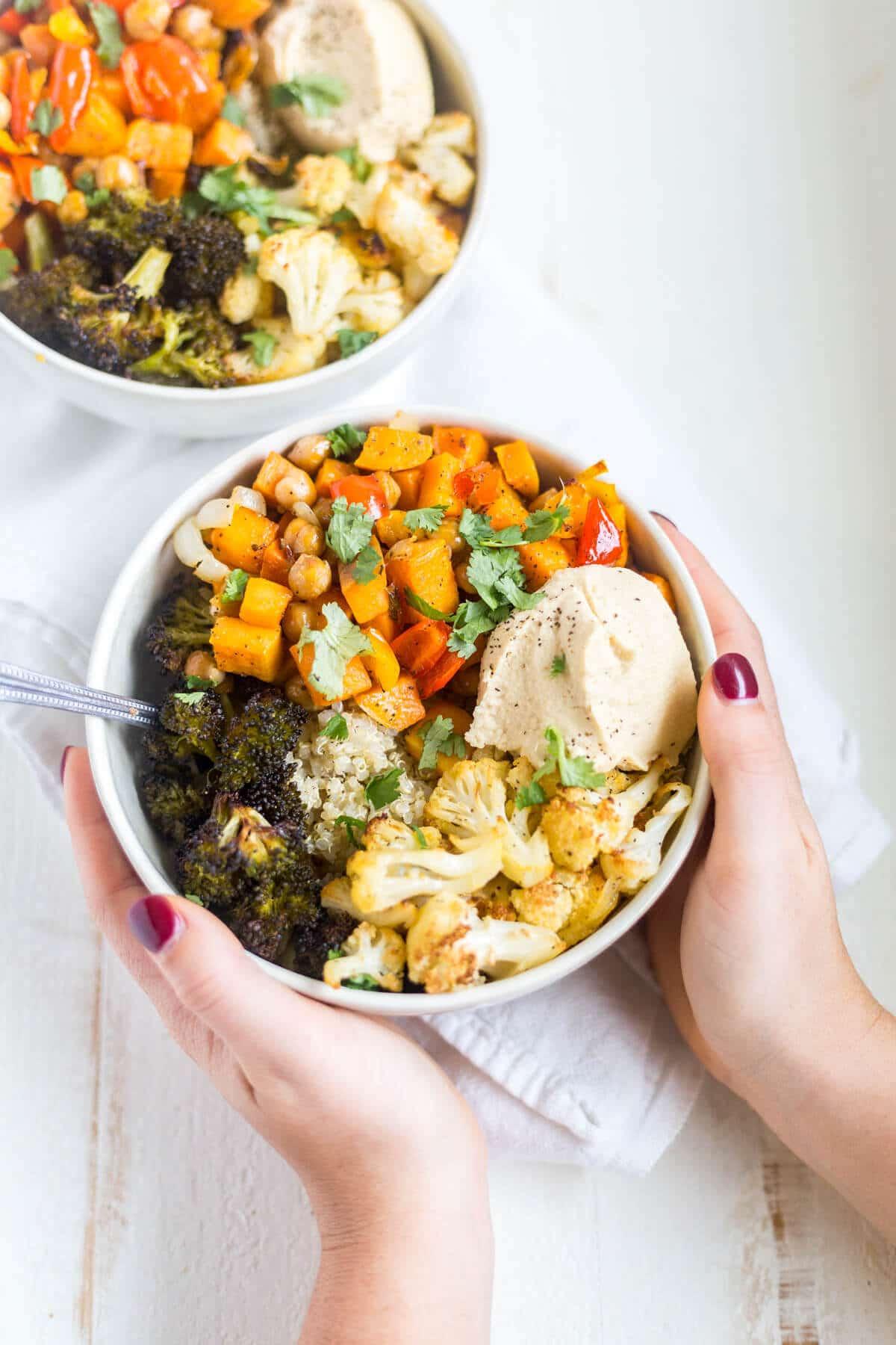 quinoa power bowl