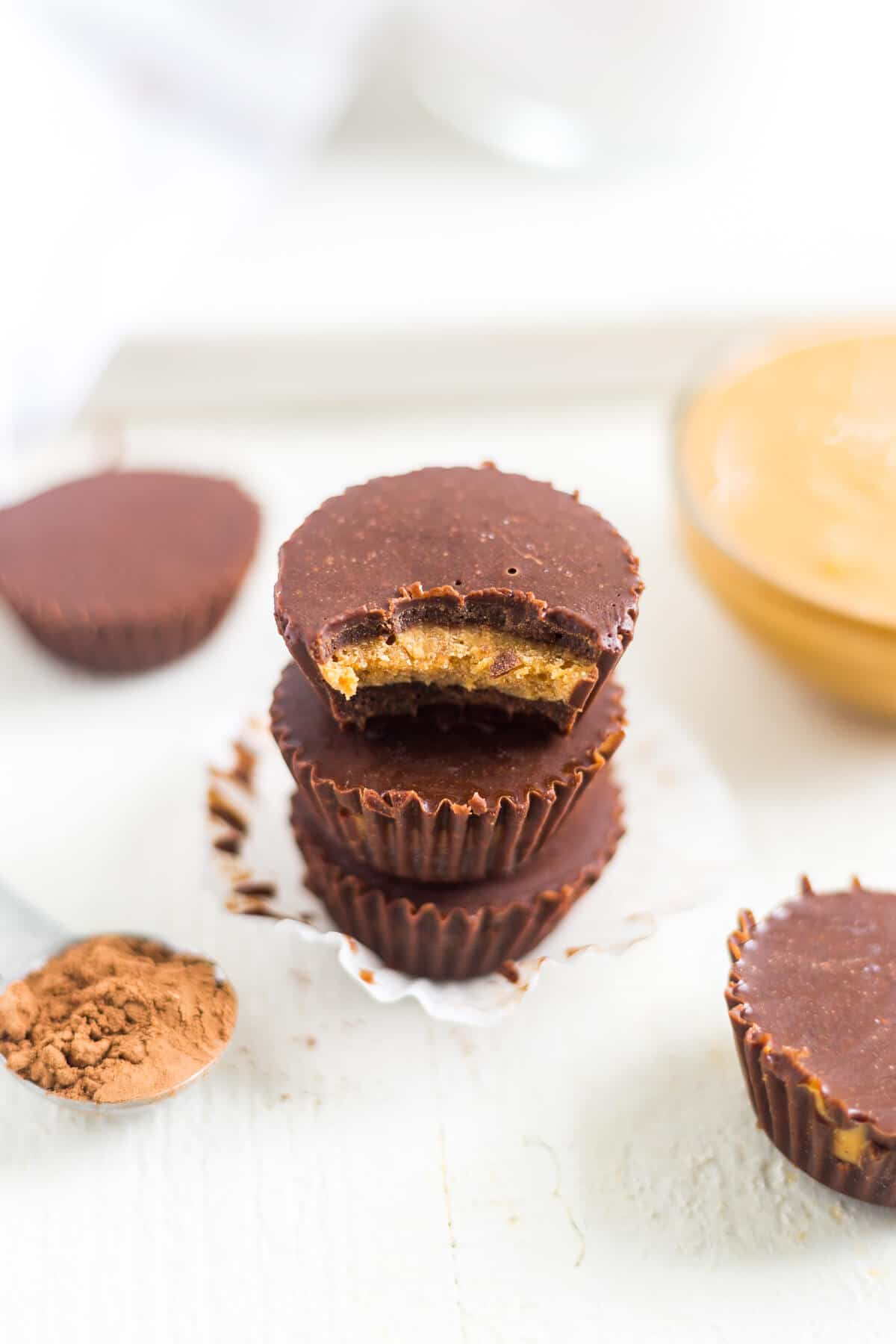 peanut butter chocolate fat bombs