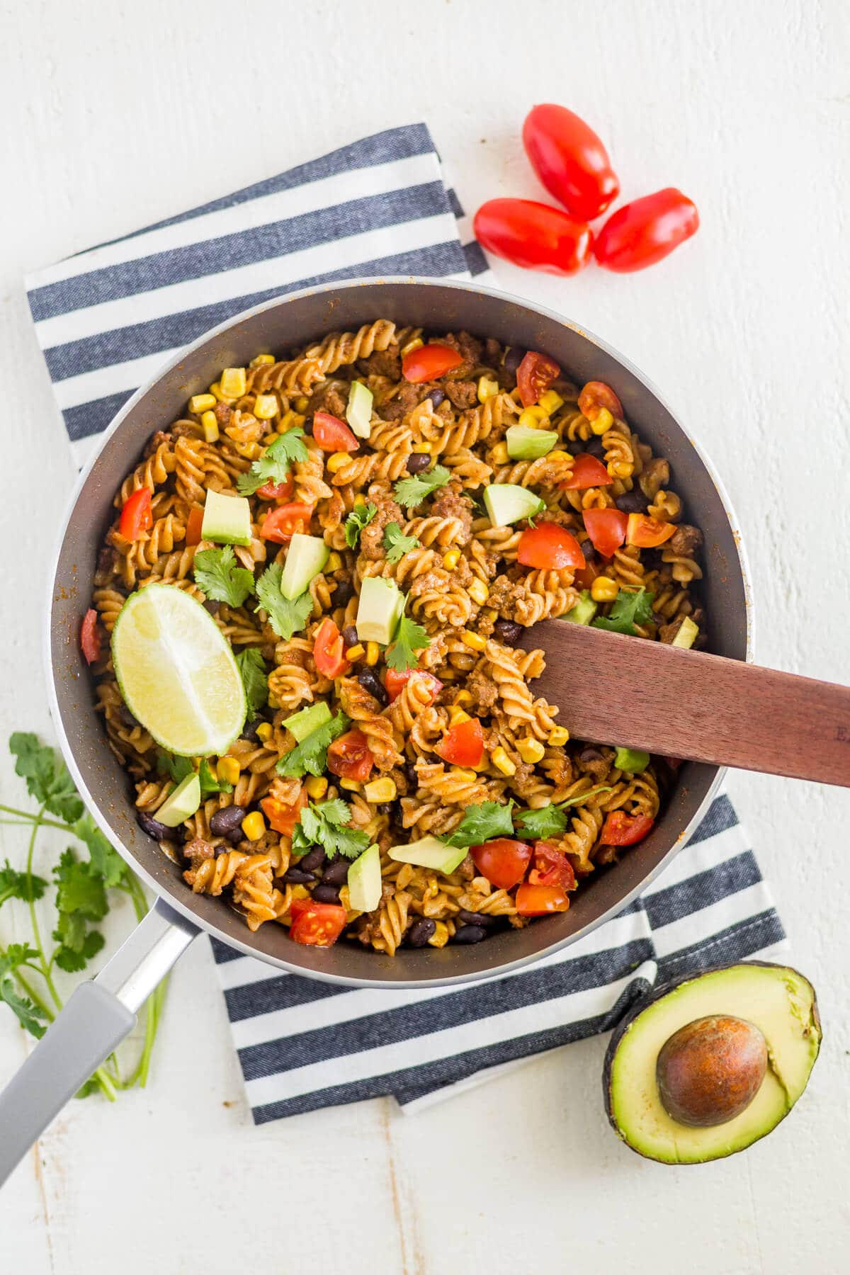 easy taco pasta