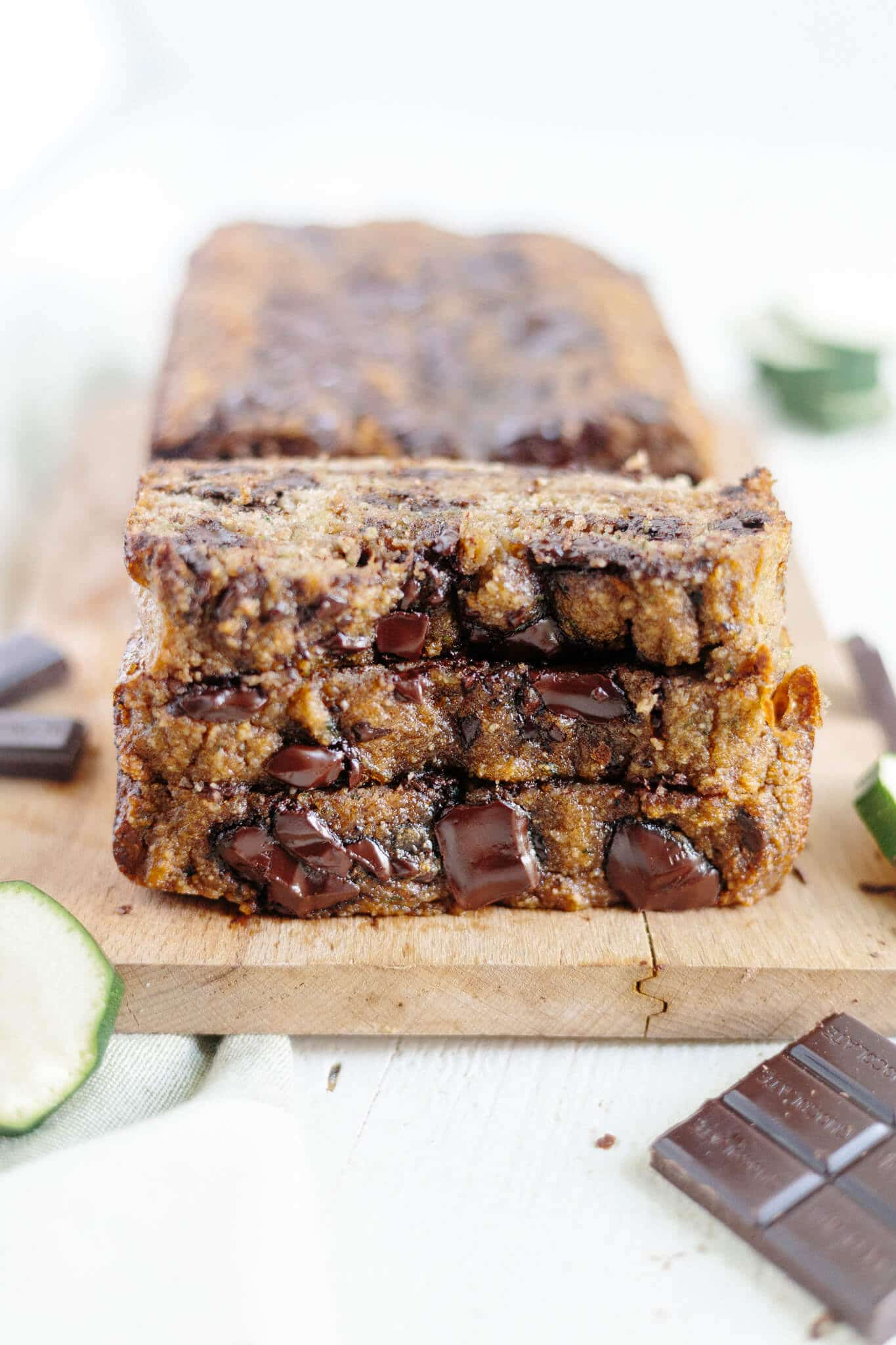 Paleo Zucchini Bread With Chocolate Chips What Molly Made