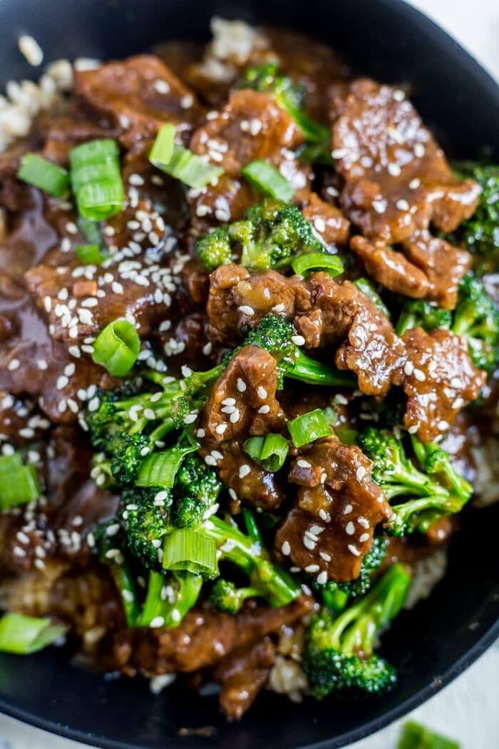 healthy instant pot mongolian beef