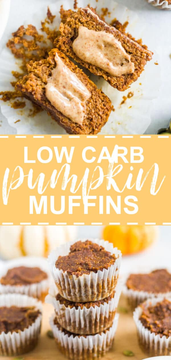 low carb pumpkin muffins PIN