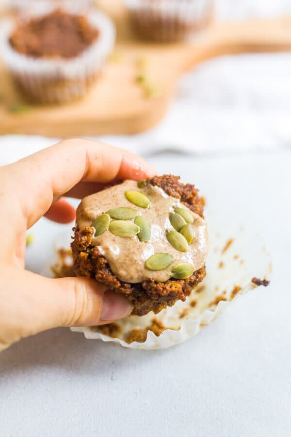 healthy low carb pumpkin muffins