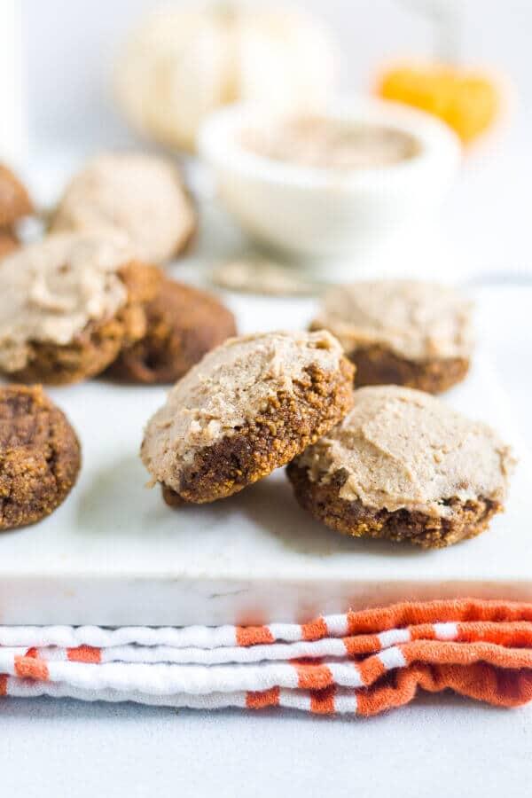 easy healthy pumpkin cookies