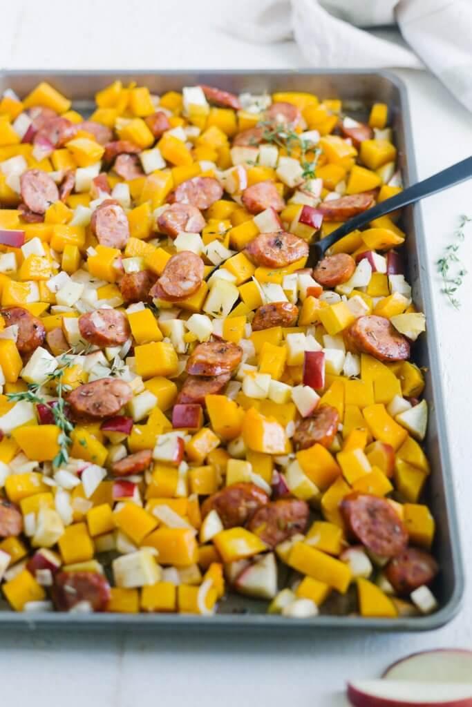 healthy sheet pan dinners