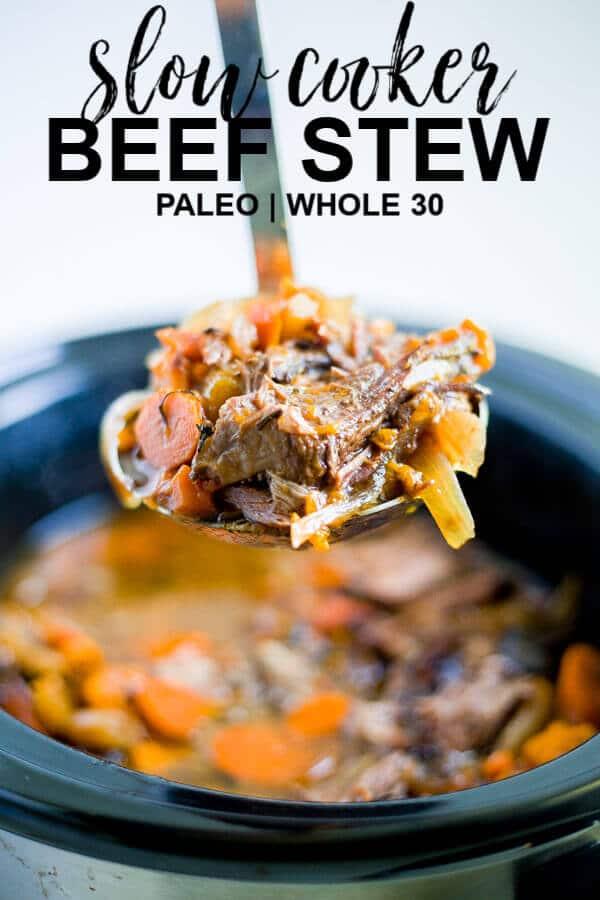 slow cooker beef stew paleo