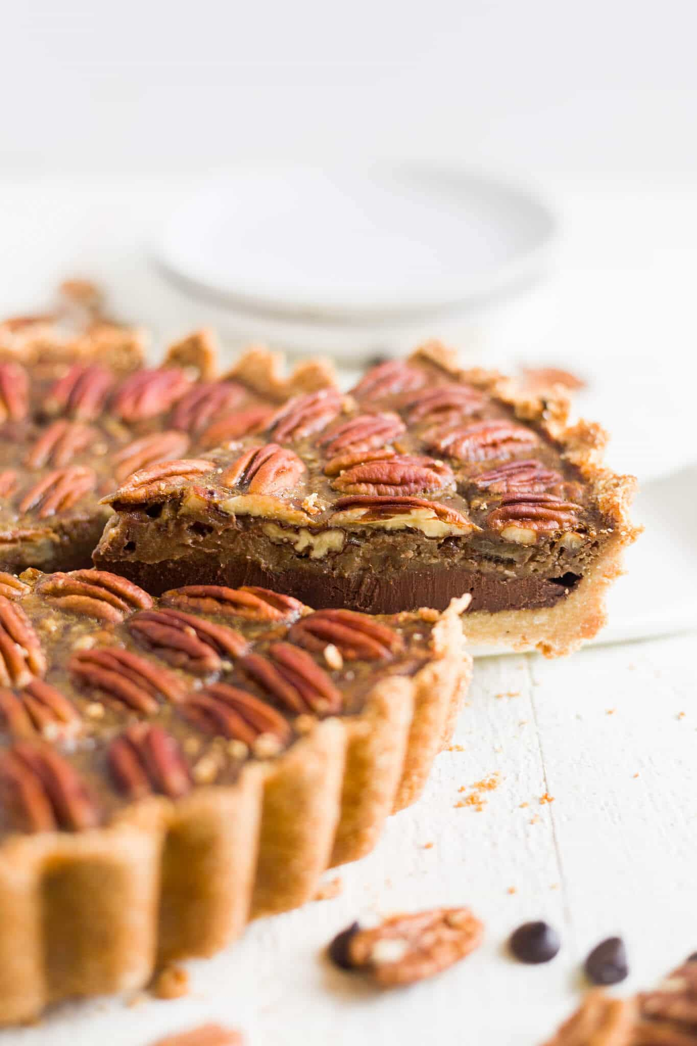 paleo chocolate pecan pie