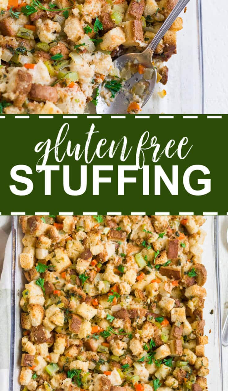 gluten free stuffing recipe pin