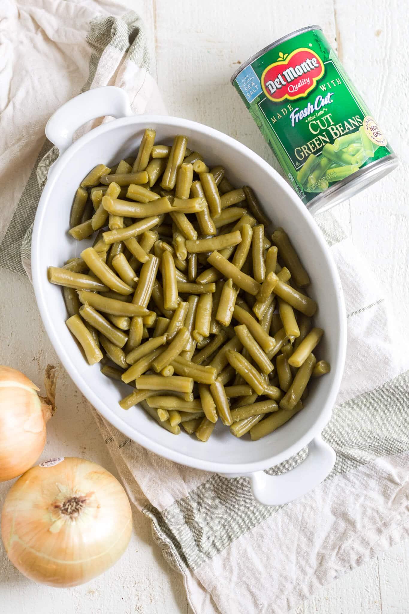 green bean casserole vegan