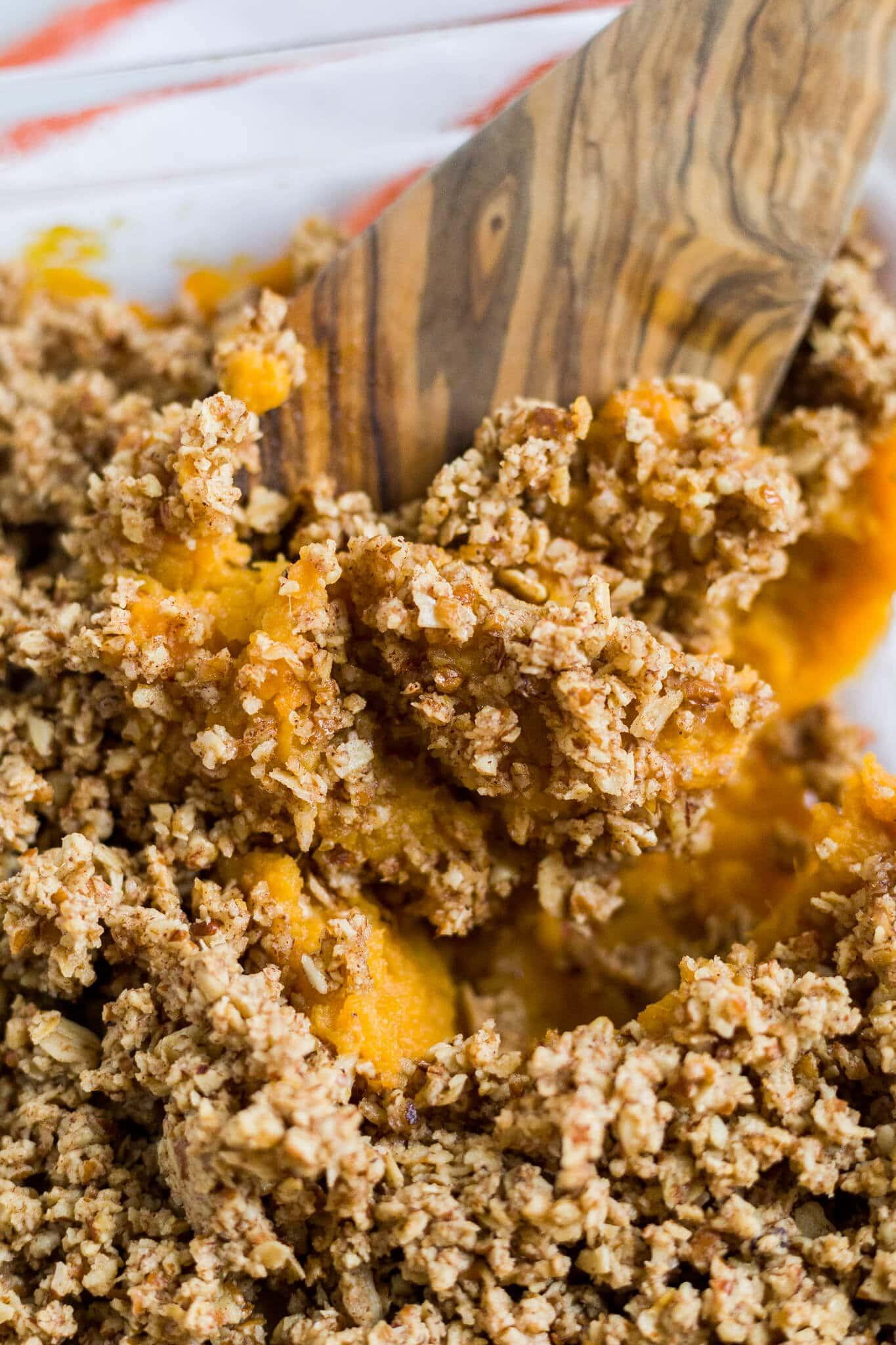 healthy sweet potato casserole