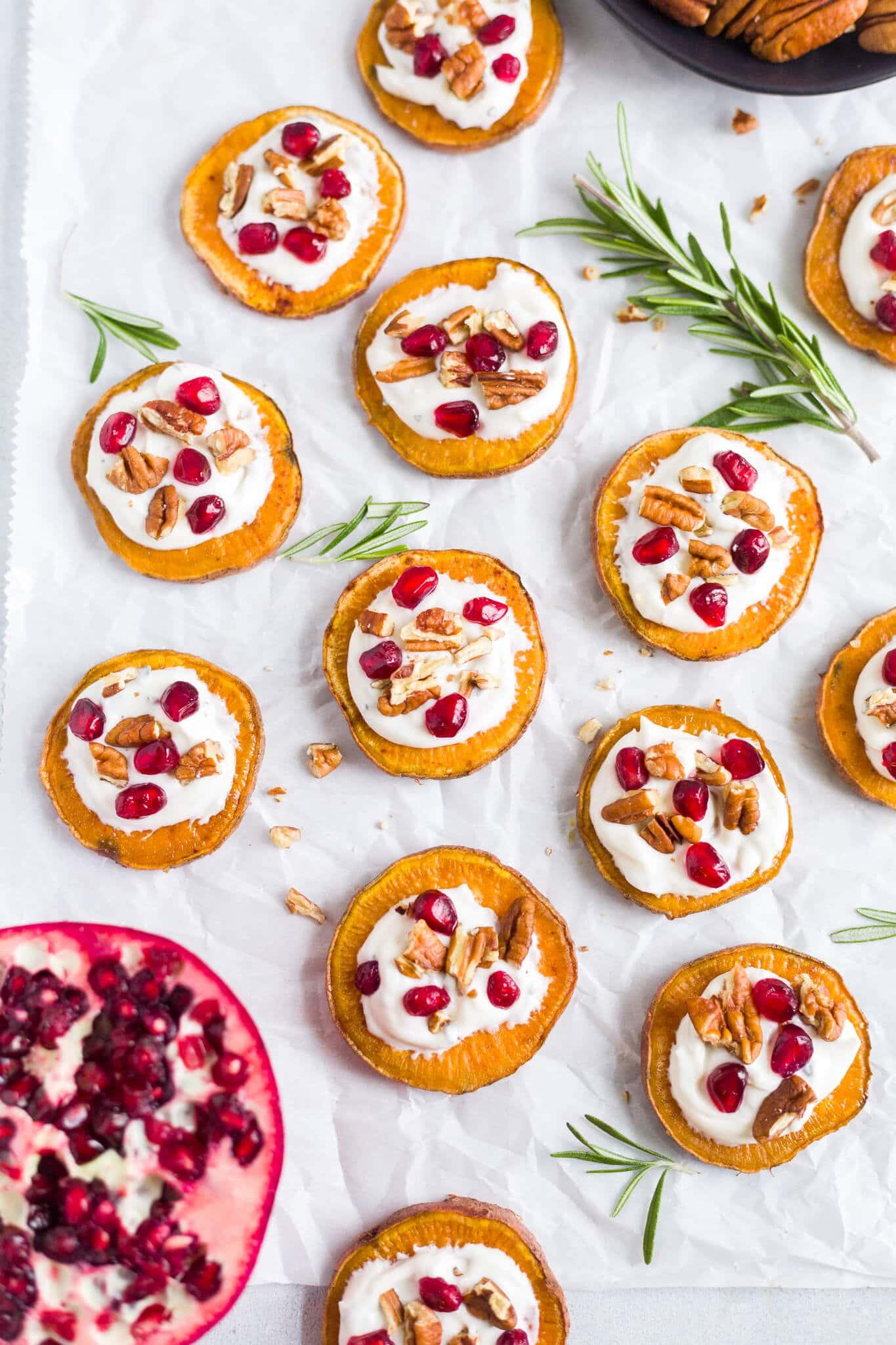 sweet potato appetizer bites