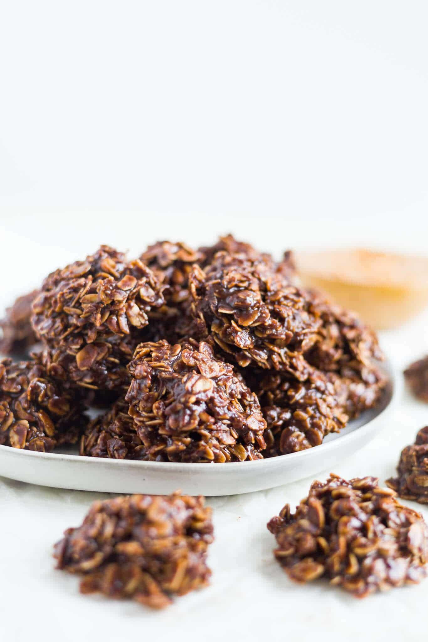 recipe for no bake chocolate oatmeal cookies