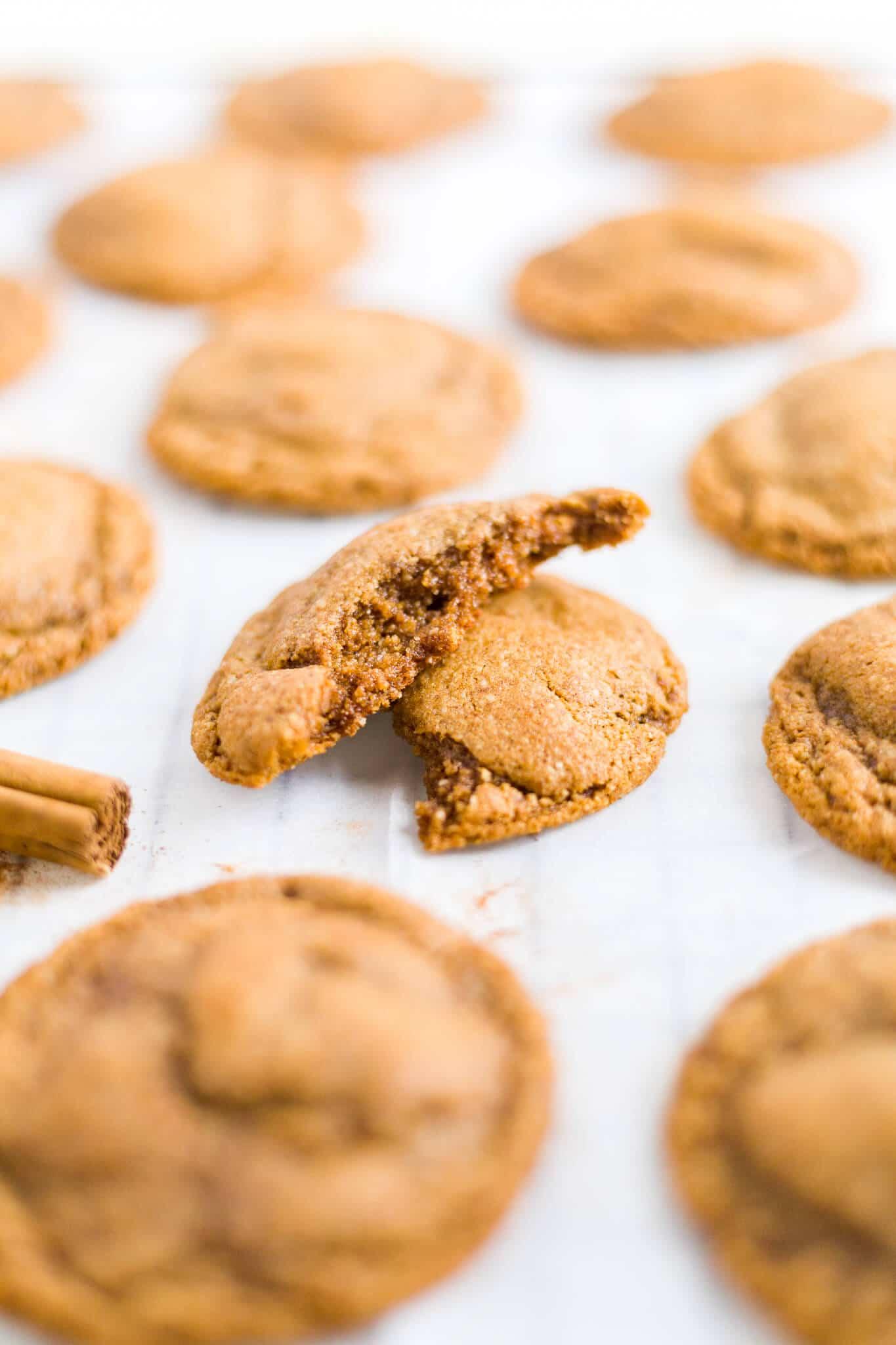 blackstrap molasses paleo cookies