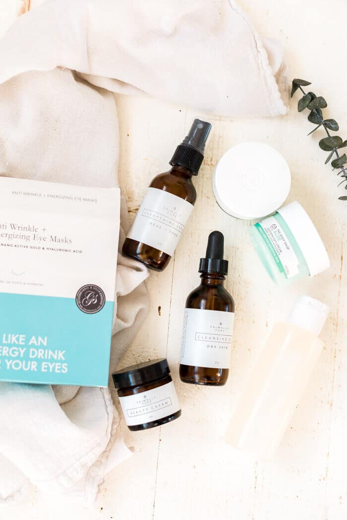 all natural skincare routine products