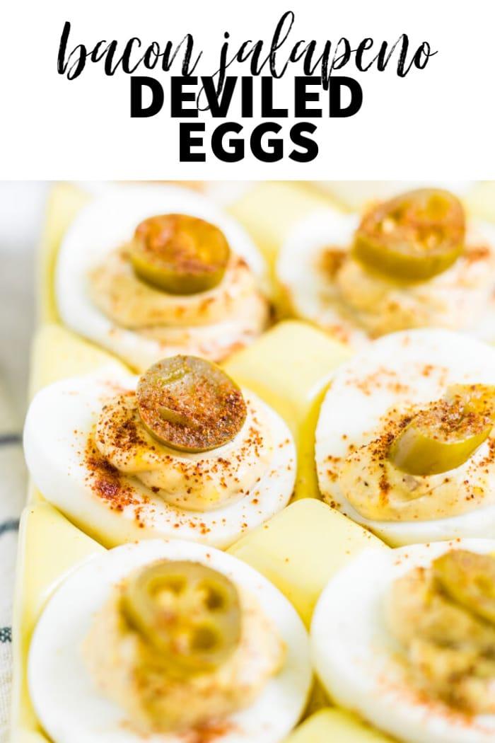 keto jalapeno deviled eggs