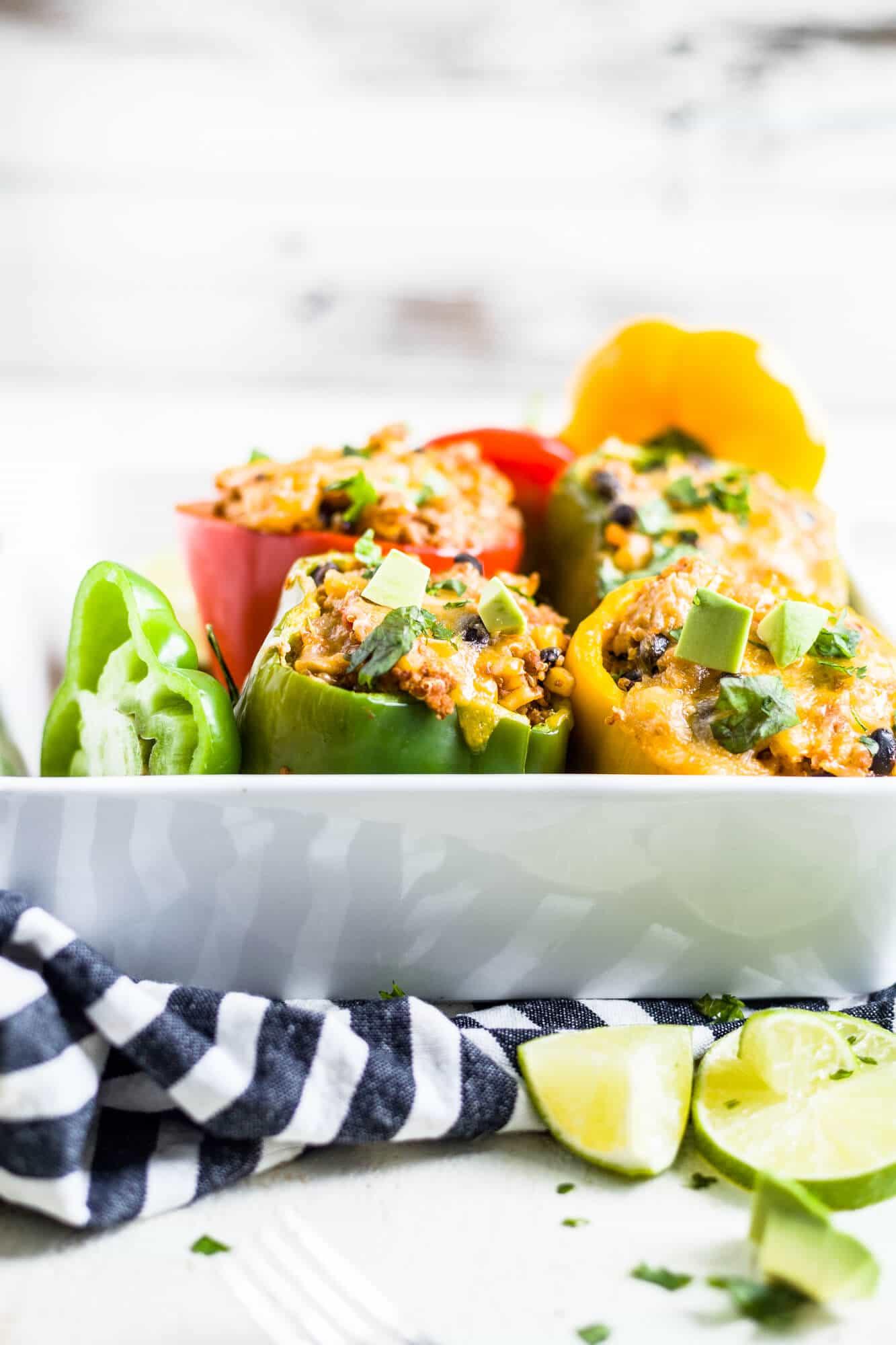 taco stuffed peppers recipe