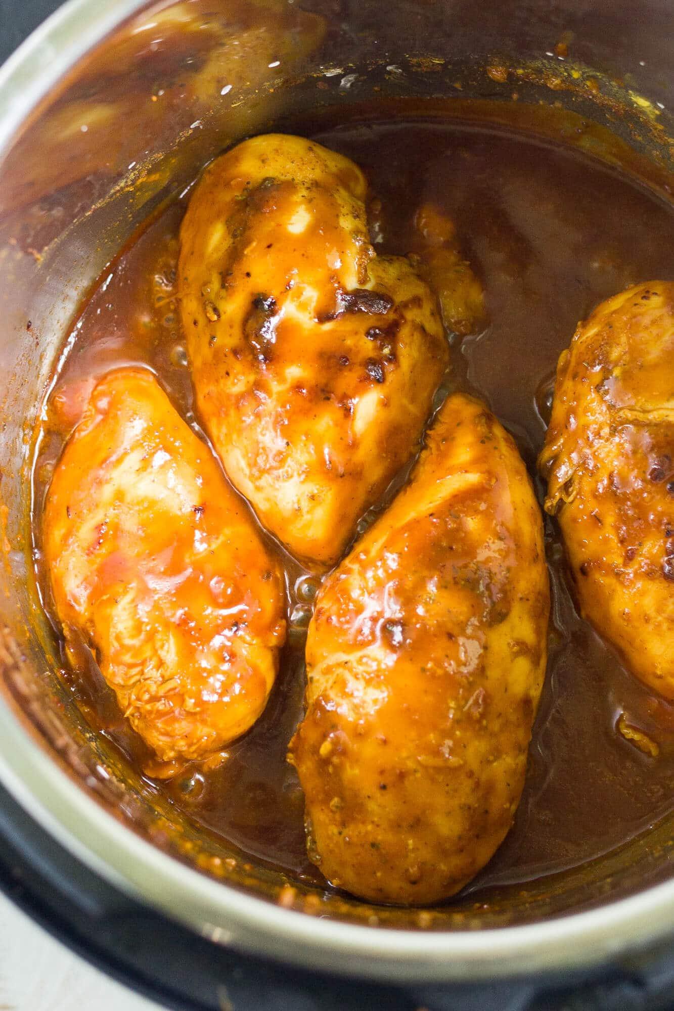 honey mustard chicken recipe in the instant pot