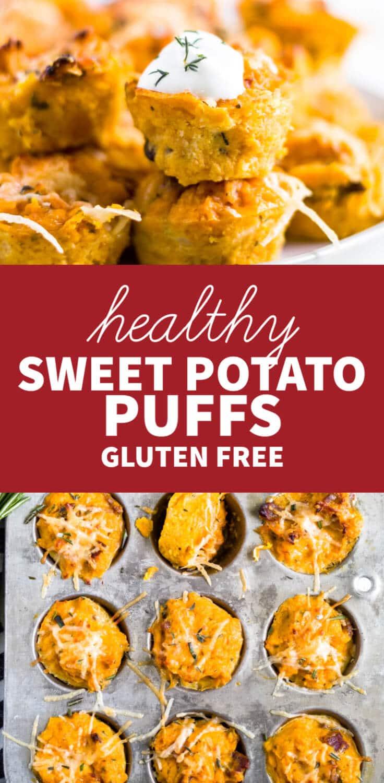 gluten free sweet potato puffs