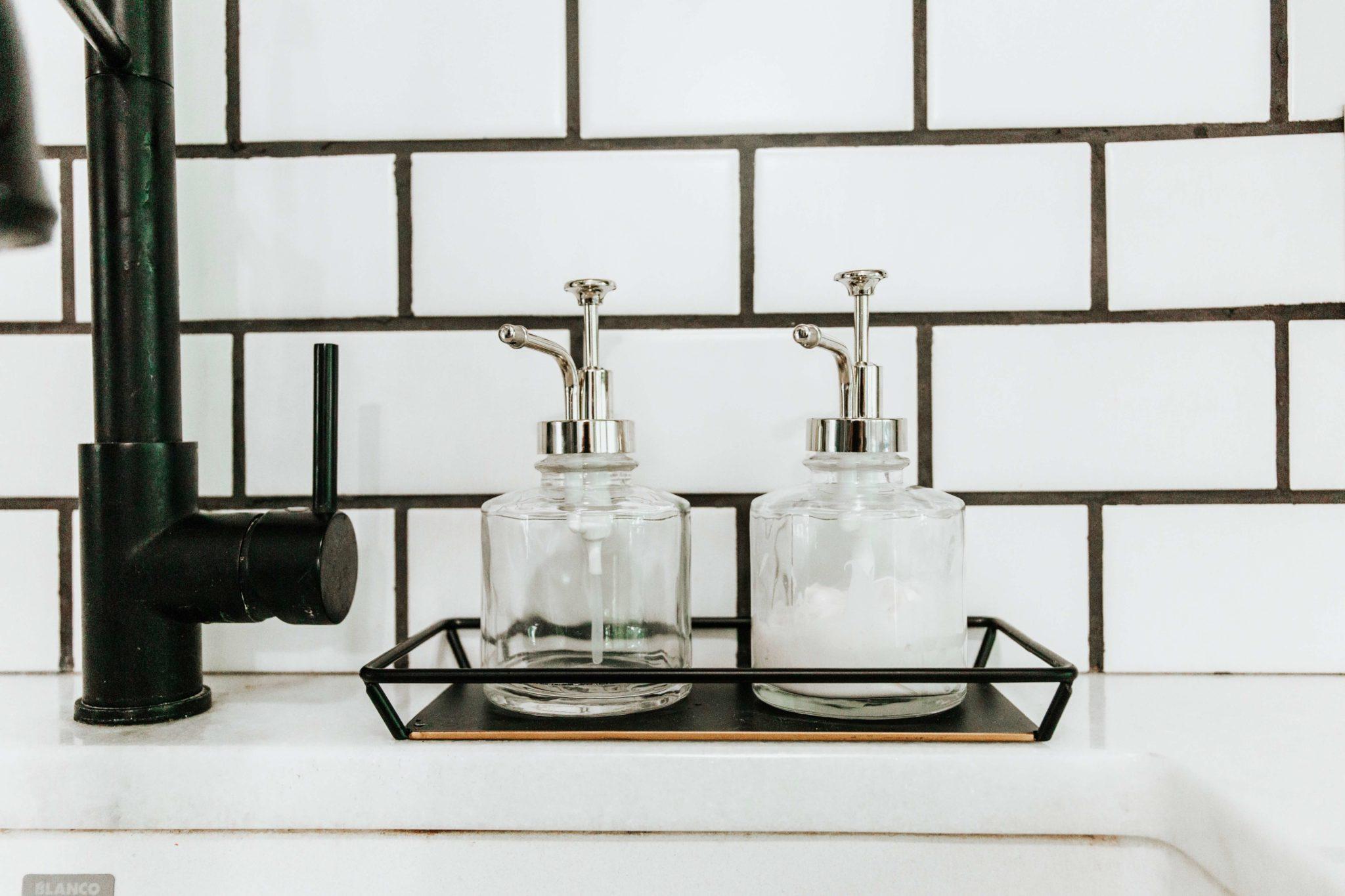 farmhouse kitchen soap dispensers