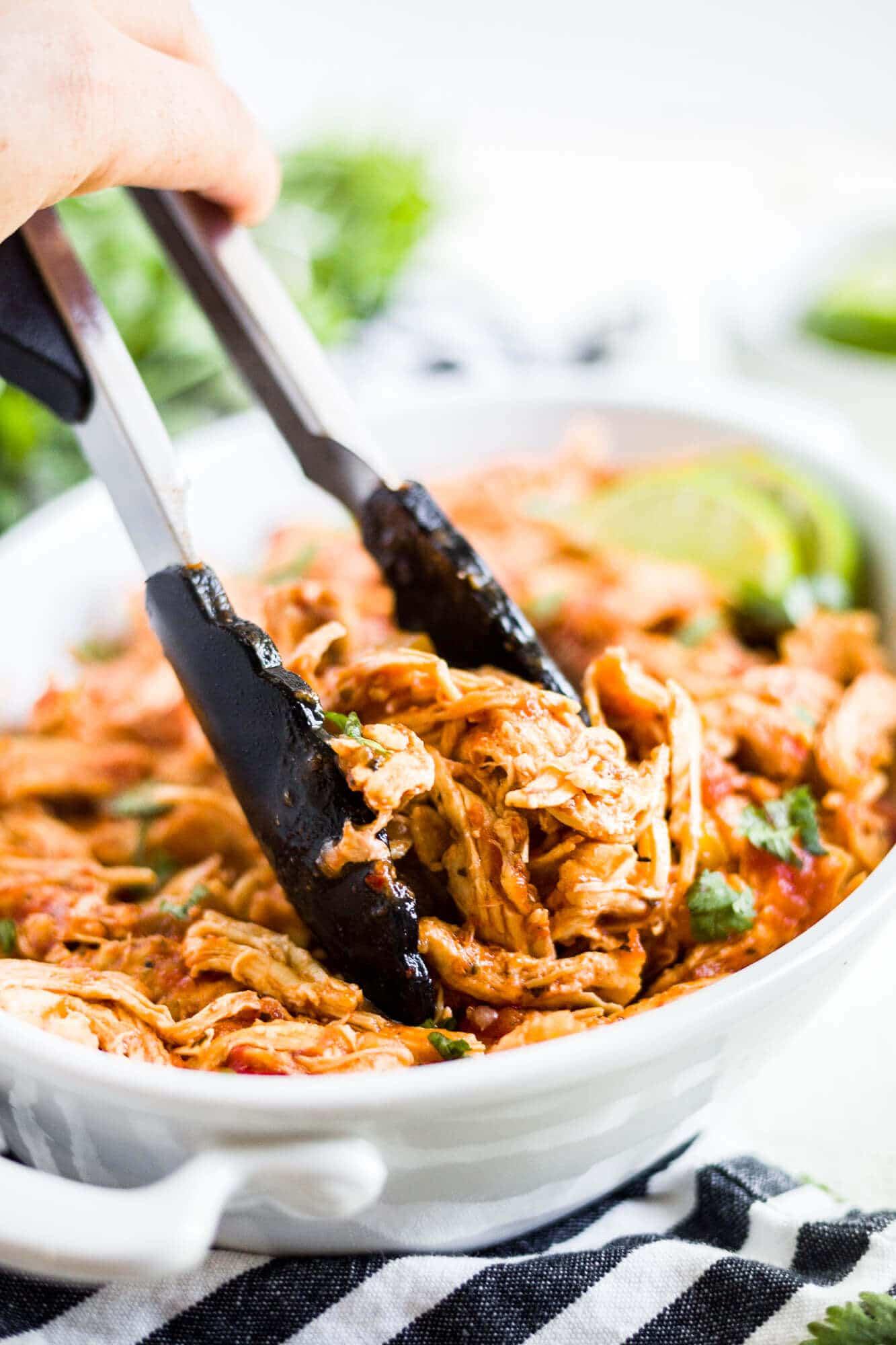 instant pot chicken salsa frozen