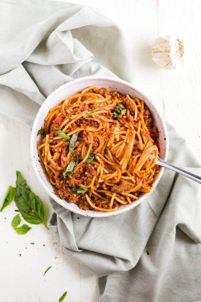 gluten free spaghetti recipe