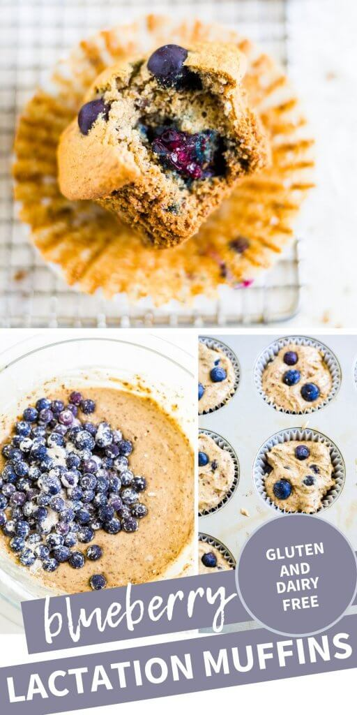 step by step lactation muffins recipe