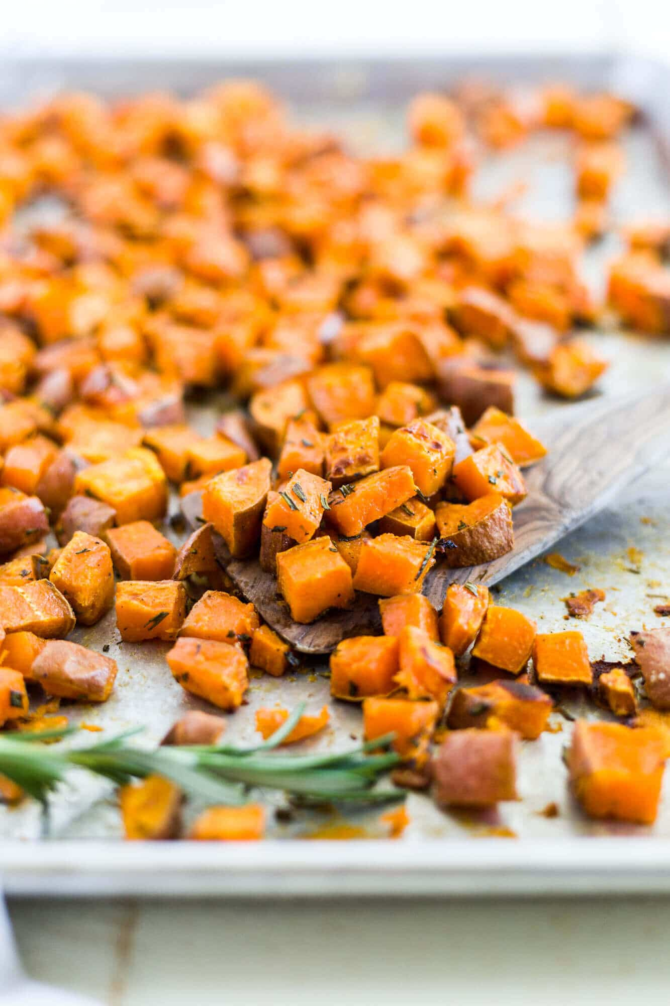 Rosemary Roasted Sweet Potatoes What Molly Made