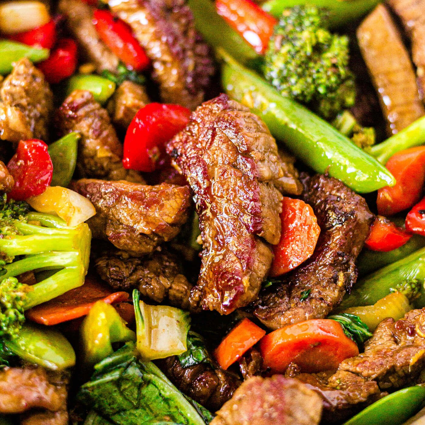 Veggie Packed Steak Stir Fry Gluten Free One Pan What Molly Made