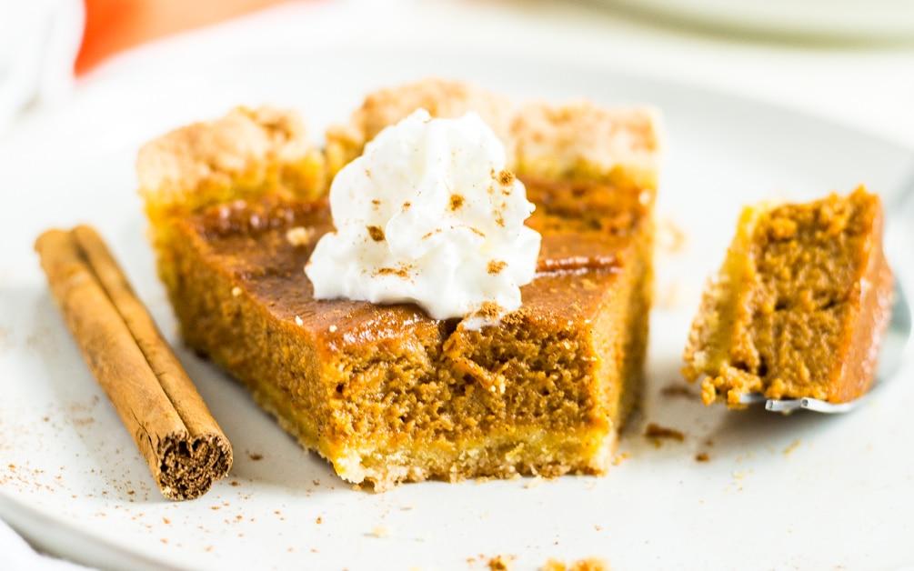 gluten free pumpkin pie for thanksgiving